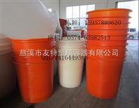 供应滚塑带盖圆桶,宁波400L,500L圆桶,耐酸碱塑料桶