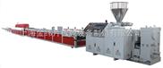 上海金纬机械PVC木塑型材挤出生产线