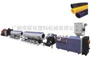常用口徑HDPE管材擠出生產線